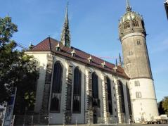 Die Schlosskirche von Wittenberg