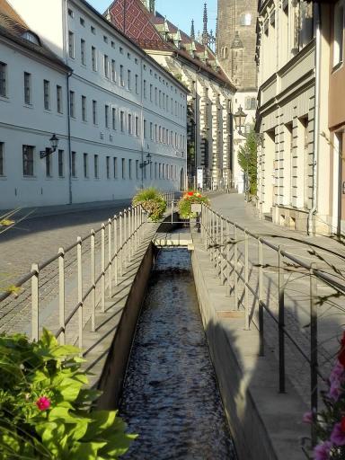 Kanal für das Röhrwasser, eine Trinkwasserversorgungsanlage, aus dem 16. Jahrhundert