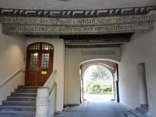 Zugang zum Martin-Luther-Haus