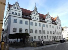 Rückseite des Alten Rathaus