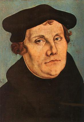 Luther-Bild v on Lucas Cranach