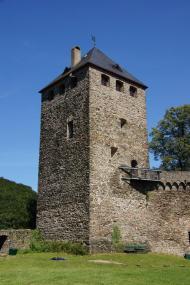 Bergfried der Burg Sayn (Foto: Tohma talk   http://commons.wikimedia.org   Lizenz: CC BY-SA 3.0 DE)