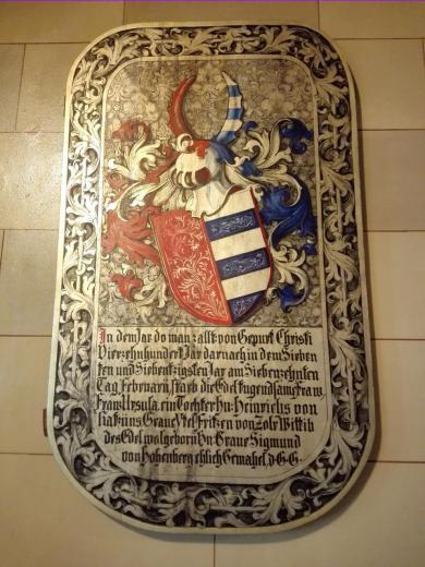 Wappenbild der Hohenzollern