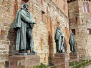 Statuen der letzten drei preußischen Herrscher