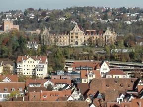 In der Universitätsstadt Tübingen