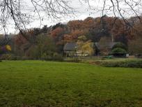 Ehemalige Mühle an der Wurm, heute eine Reitanlage
