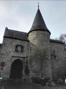 Eingang zur ehemaligen Burg Wilhelmstein