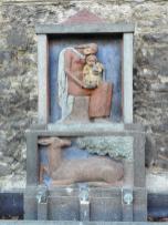 Brunnen unterhalb der Genoveva-Burg