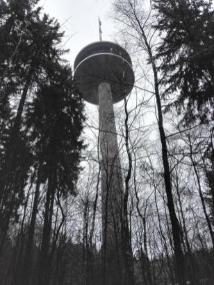 """""""Mulleklenkes"""", der Aachener Fernmeldeturm auf dem Preußberg"""