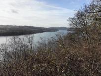 Blick über den See Richtung Westen (Ablauf)