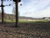Der Beach-Club am Baldeney - winterlich verwaist