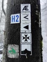 Viele Wanderwege treffen sich hier