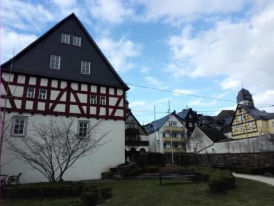 In der Altstadt von Hachenburg