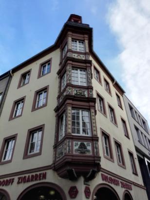 Am Deutschen Eck in Koblenz