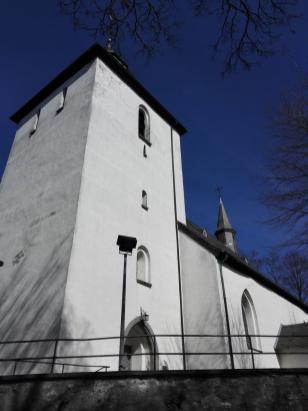 """Die """"Alte Kirche"""" auf dem Stadtberg"""