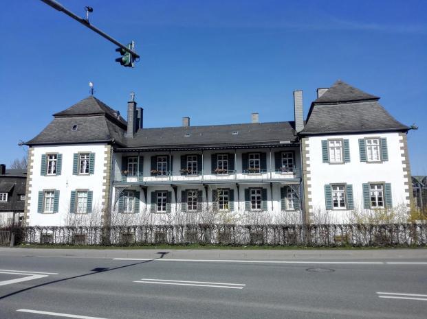 Haus Kupferhammer, das frühere Wohnhaus der Industriellenfamilie Bergenthal