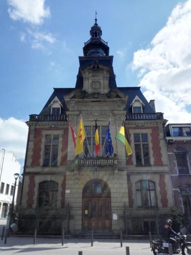 Das Rathaus am Kirchplatz