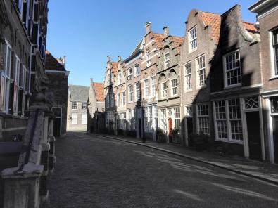 Häuser in der Hofstraat