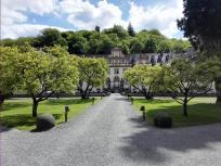 Auffahrt zum Wasserschloss Ehreshoven