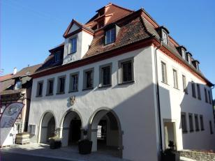 Das Forchtenberger Rathaus, Geburtshaus von Sophie Scholl