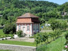 Garten-Pavillon an der Kocherbrücke