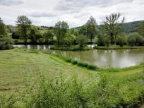 Kleine Seen neben der Jagst