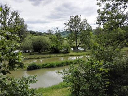 Landschaft am Fluss