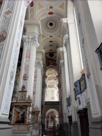 Seitenflügel in der Klosterkirche