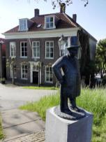 Skulptur am Hafen