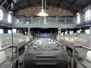 Auswurf der geförderten Kohle