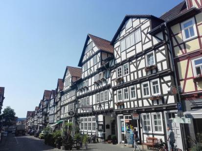Viele gut erhaltene Fachwerkhäuser prägen das Bild der Altstadt