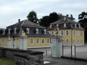 Zugang zur Anlage vom Schlosspark aus