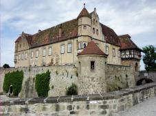 Ansicht der Burg von Osten