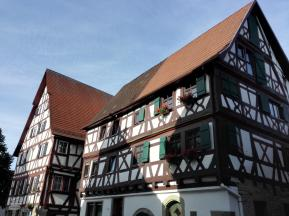 In der Fachwerkstadt Eppingen