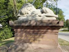 Gedenkstein für die Eschweger Soldaten, die sich gegen Napoleon erhoben
