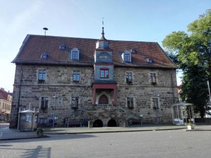 Das Rathaus von Volkmarsen