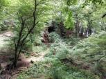Blick zur Höhle Hollenkammer