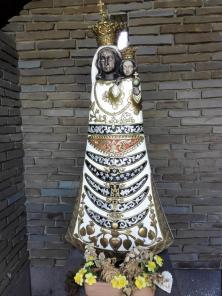 Marienstatur auf dem Papsthügel