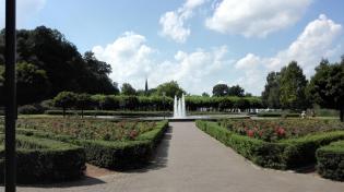 Fontäne im Schlosspark