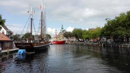 Blick in den Binnenhafen
