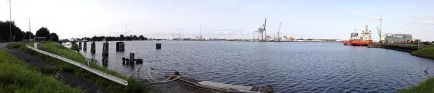 Panoramabild vom Südkai