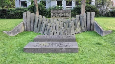 Mahnmal für die deportierten und ermordeten Juden der Stadt