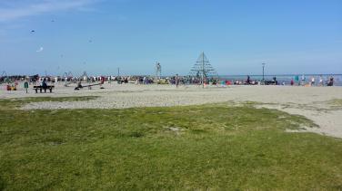 Strandparty ist angesagt