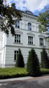 Prächtige Häuser an der noblen Adelbert-Straße