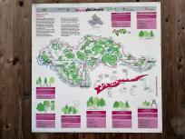 Übersichtskarte der Wälder im nördlichen Ruhrgebiet