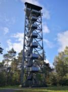 Der Feuerwachturm auf dem Farnberg