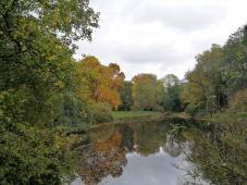 Die ehemaligen Parkanlagen sind heute ein beliebtes Naherholungsgebiet
