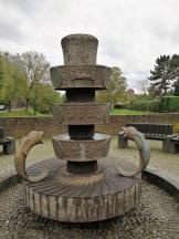 Brunnen an der ehemaligen Wallanlage