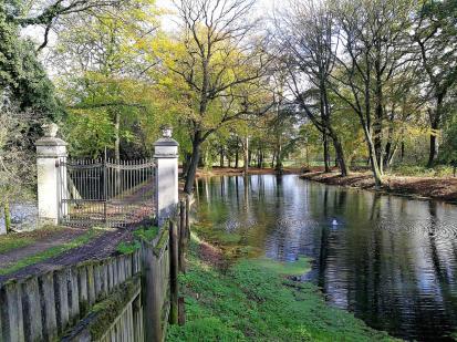 Park von Schloss Westerholt