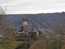 Und wir erblicken zum ersten Mal die Reichsburg Cochem